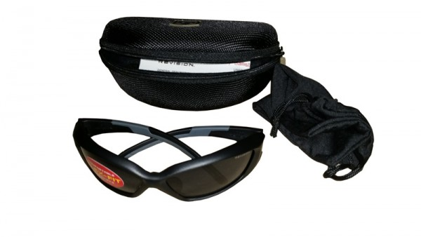 Revision Brille Hellfly Black/Smoke