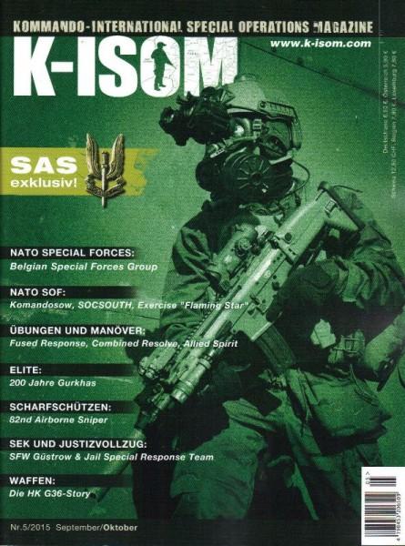 K-ISOM Ausgabe Nr. 05/2015 September / Oktober