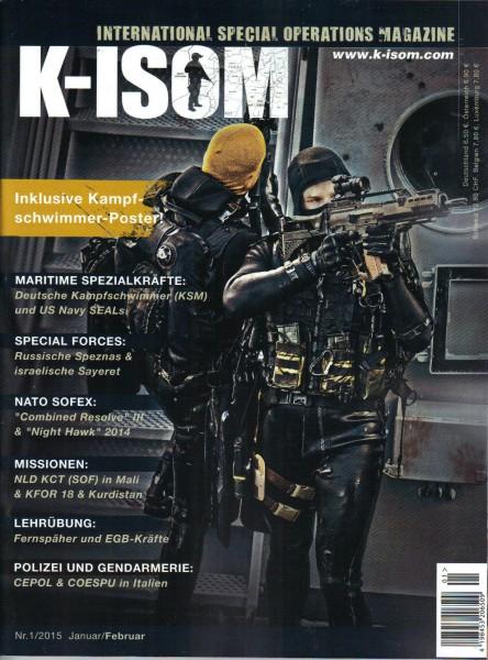 KISOM Ausgabe Nr. 1/2015 Januar/ Februar