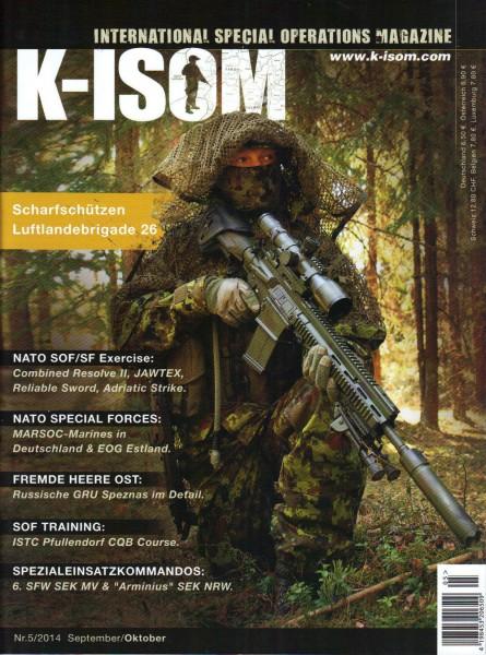 K-ISOM Ausgabe Nr. 5/2014 September / Oktober
